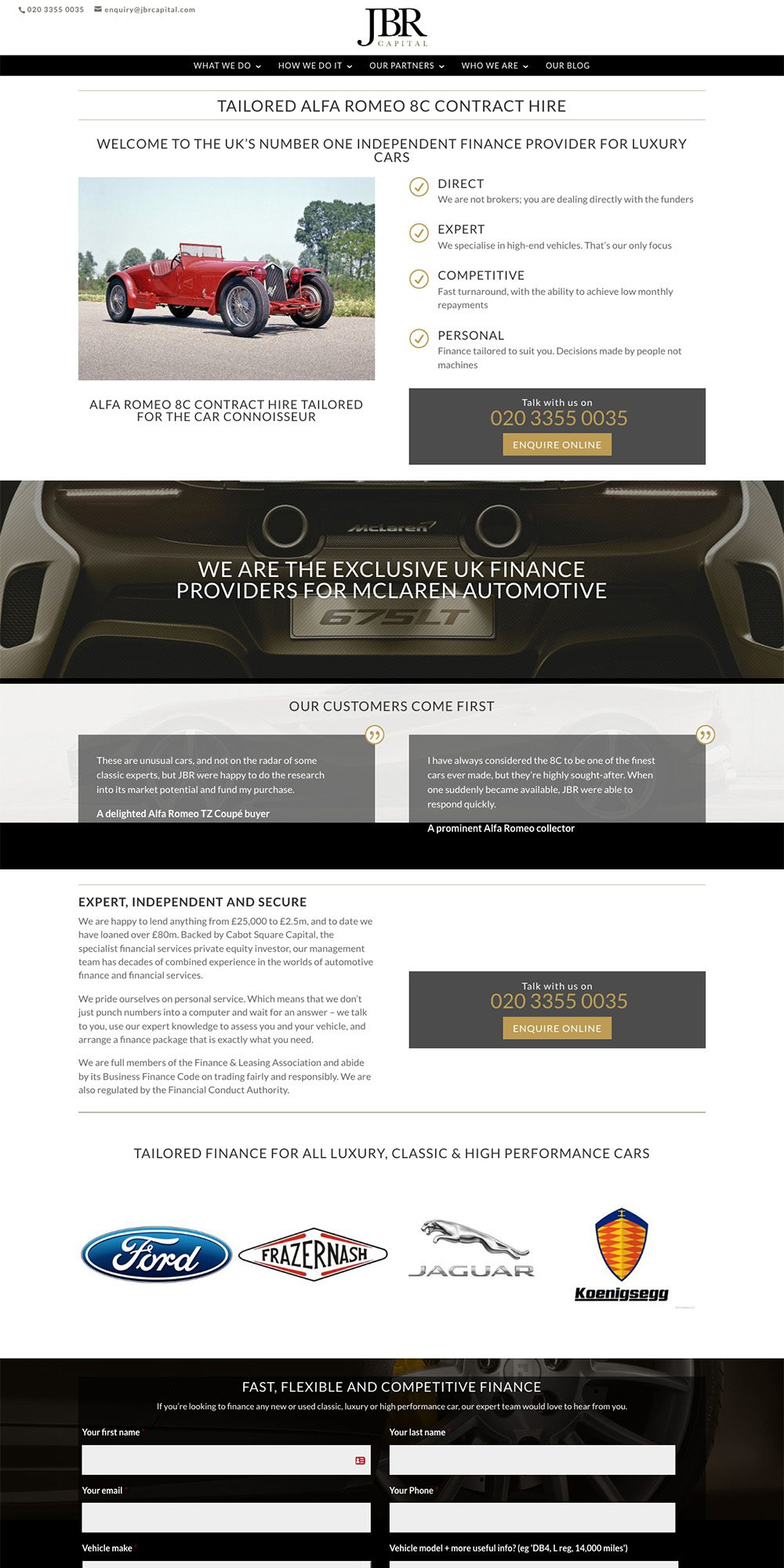 Haynes website by Practically.io - Experts in web design and development