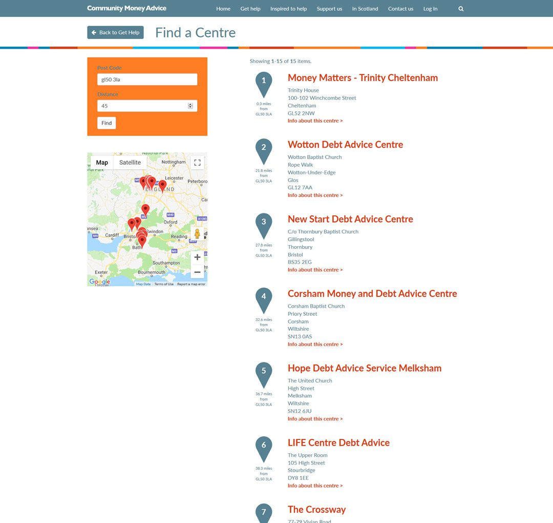CMA website by Practically.io - Experts in web design and development