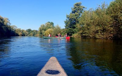 A Lazy Canoe Trip Down the River