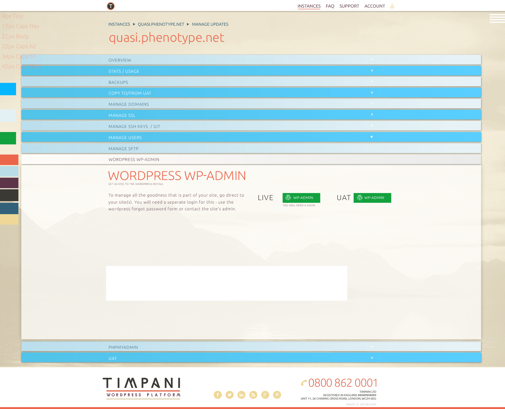 Timpani with Practically.io - Experts in web design and development